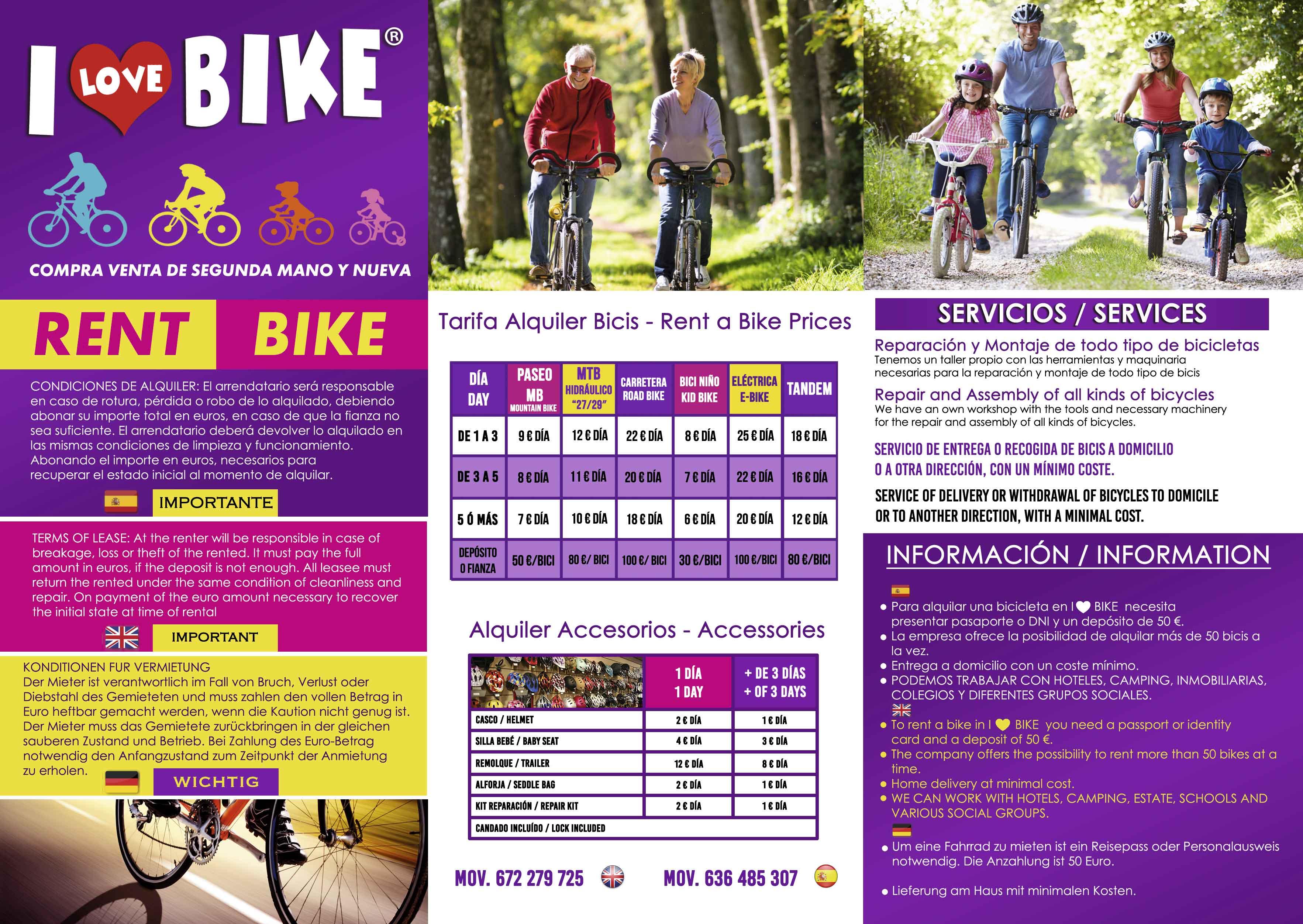 alquiler y venta de bicicletas electricas en Torrevieja y Orihuela Costa