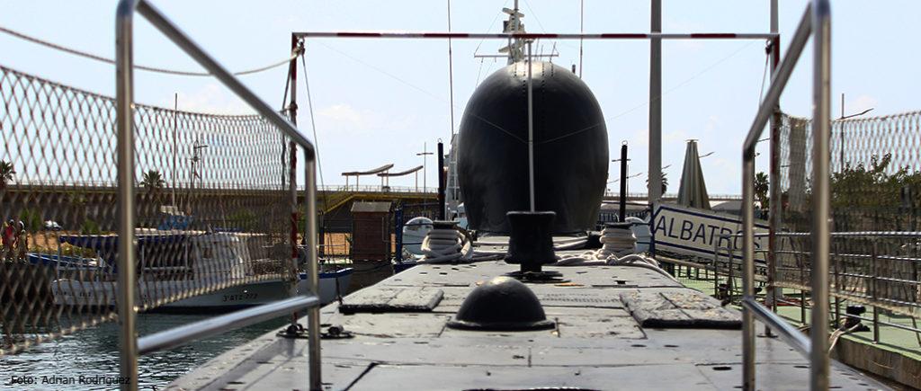 museo flotante submarino s-61 delfín Torrevieja