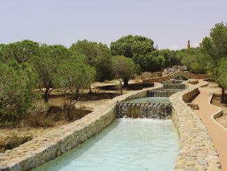 parque del molino del agua La Mata