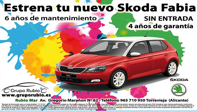 Skoda-Fabia-Torrevieja-Grupo-Rubio-oferta – Torrevieja com