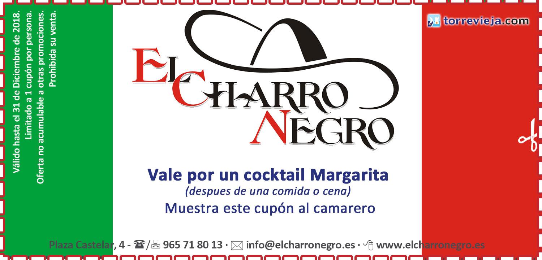 Cupon Restaurante Mexicano El Charro Negro Torrevieja Torrevieja