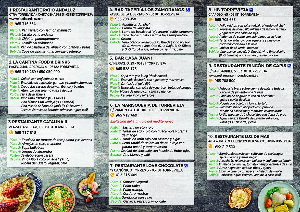 International Cuisine week – Torrevieja.com portal de turismo