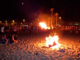 noche de san juan playas torrevieja 2020