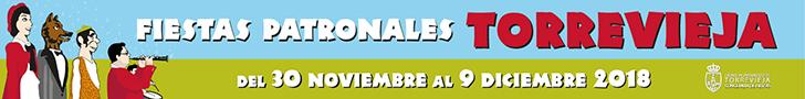 Fiestas patronales Torrevieja 2018