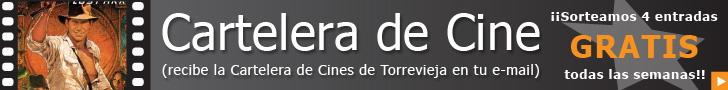 Cartelera de cines IMF Torrevieja suscribete y gana entradas