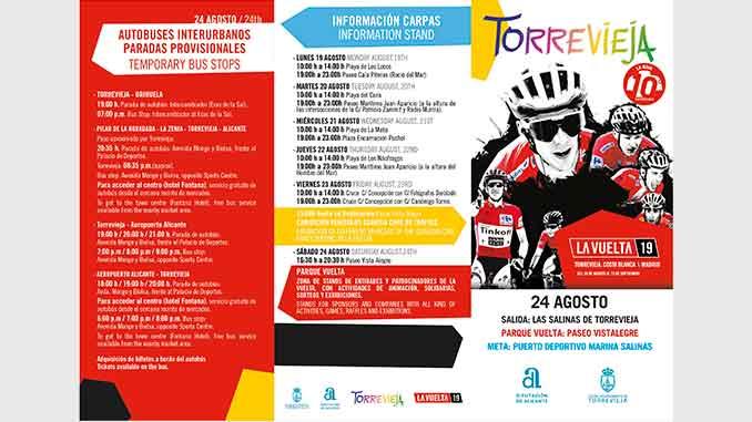 recorrido vuelta ciclista Torrevieja