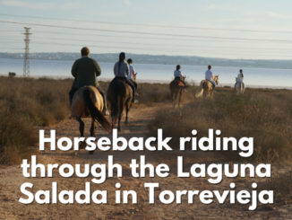 Horseback riding through the Salt lakes in Torrevieja