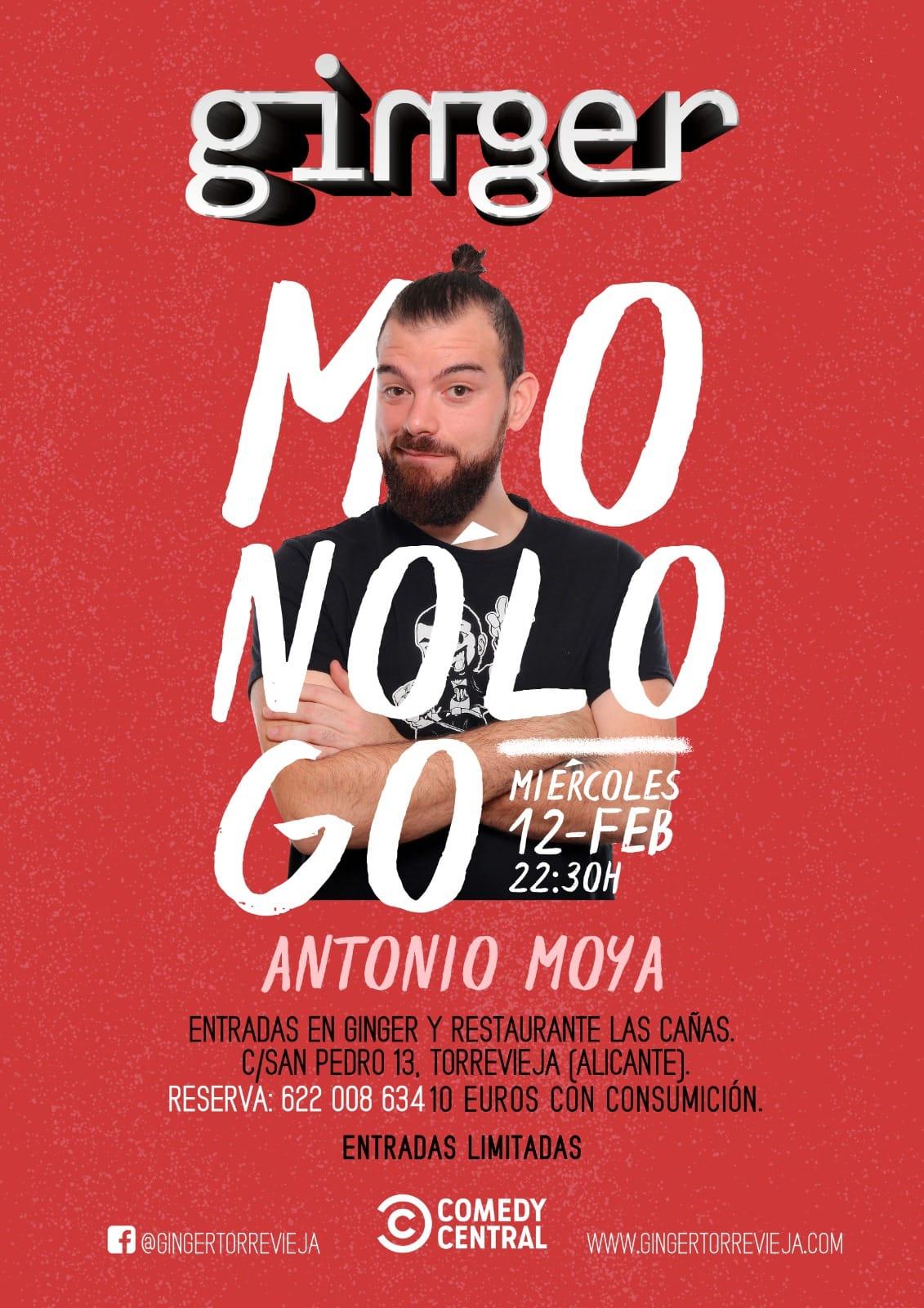 Monologo Antonio Moya ginger Torrevieja 2