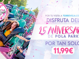 Parque de atracciones Pola Park Torreviejacom cupon descuento 25 aniversario 678x381