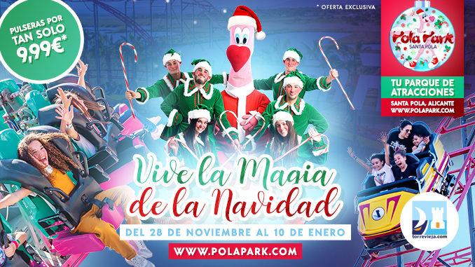 Pola Park Navidad 2020 cupon descuento Torreviejacom 678x381