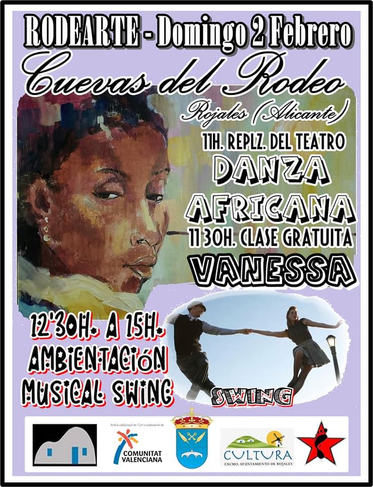 danza africana rodearte Rojales 2020 2