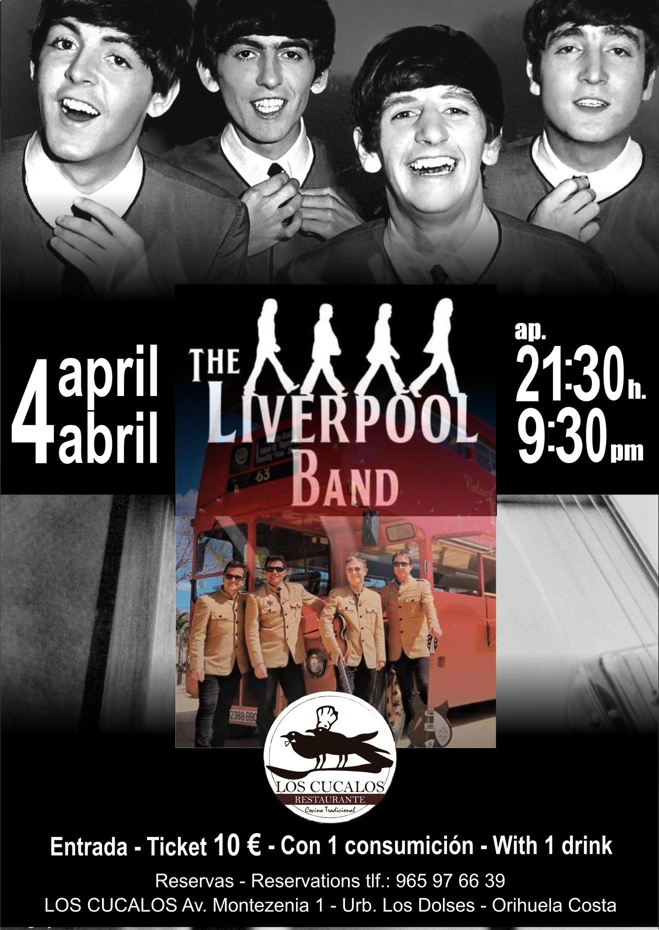 the liverpool band in los cucalos april 2020 torreviejacom 2