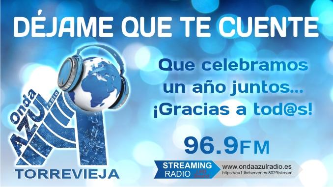 Onda Azul Radio Torrevieja Programa DEJAME QUE TE CUENTE 678