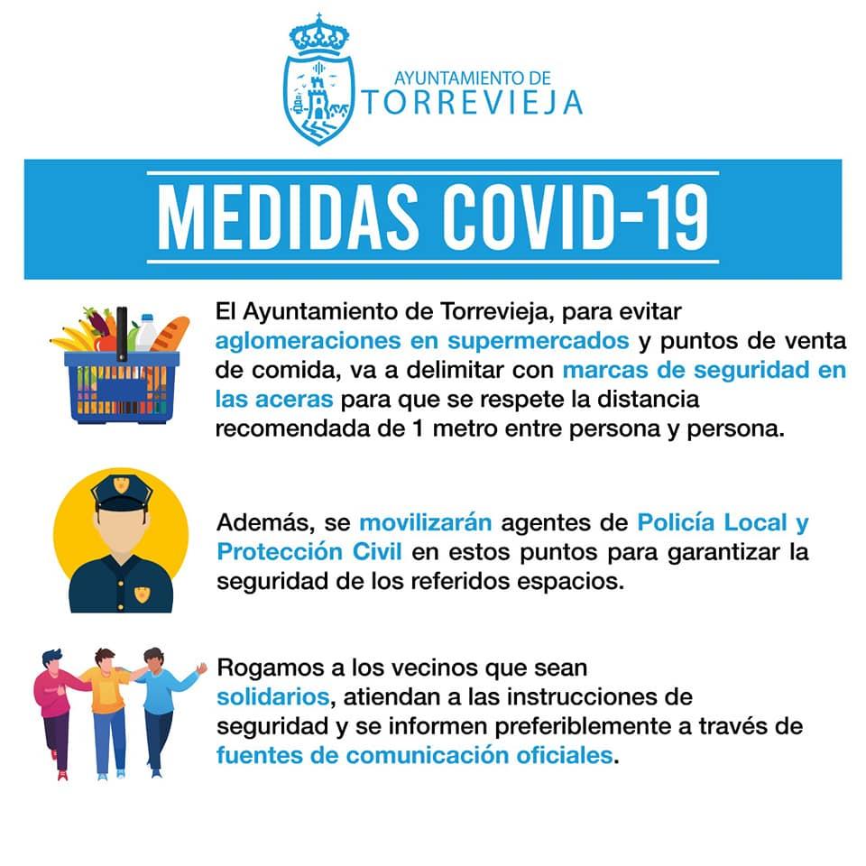 coronavirus Covid 19 - Ayuntamiento de Torrevieja