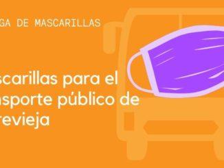 Mascarillas para el transporte público de Torrevieja