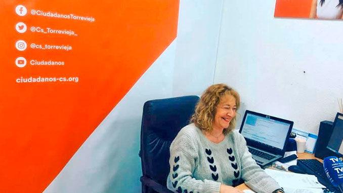 Pilar Gomez Magan portavoz Ciudadanos en Torrevieja 1