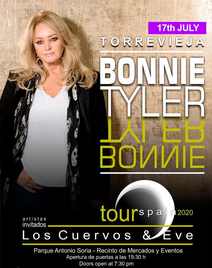 Bonnie Tyler Torrevieja concert