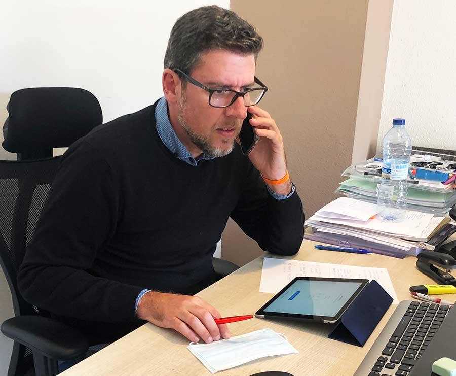 Javier Gutiérrez, Diputado de asistencia a Municipios