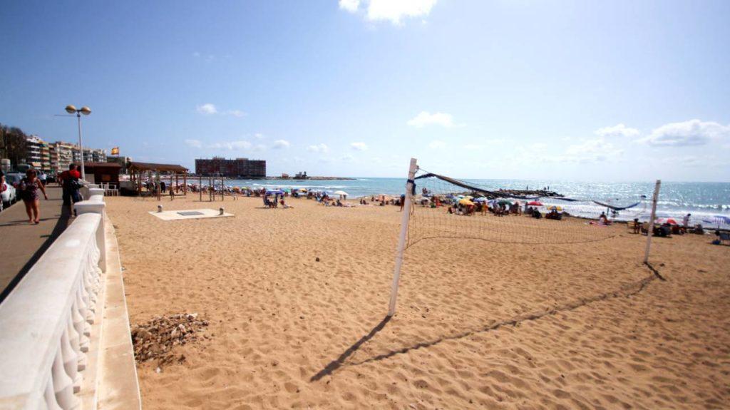 Torreviejan Playa de los locos, Hullujen ranta