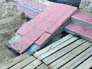Reparación de los accesos a las playas