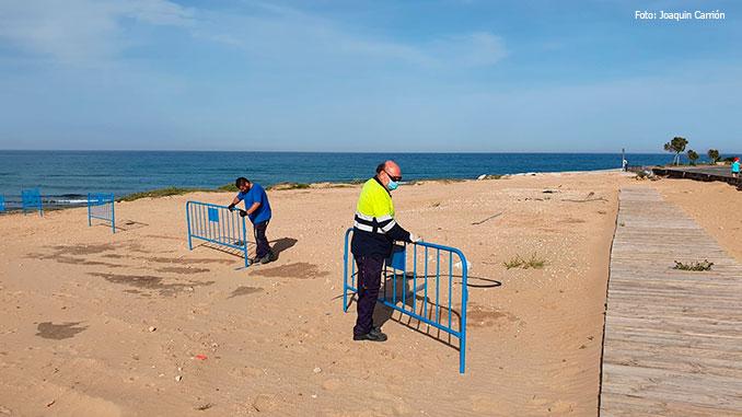 Torrevieja avaa rannat