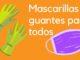 mascarillas y guantes diputación de Alicante