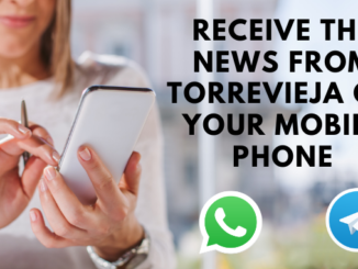 receive the news from Torrevieja on your mobile phone