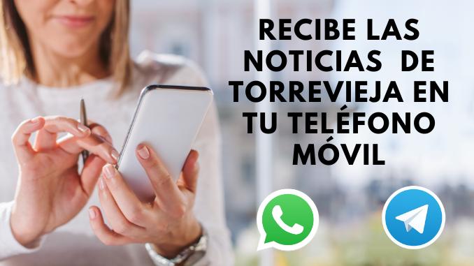 recibe noticias telefono movil whatsapp telegram