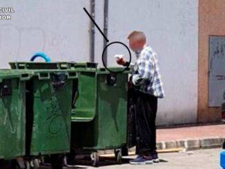 Detenido por quemar contenedores