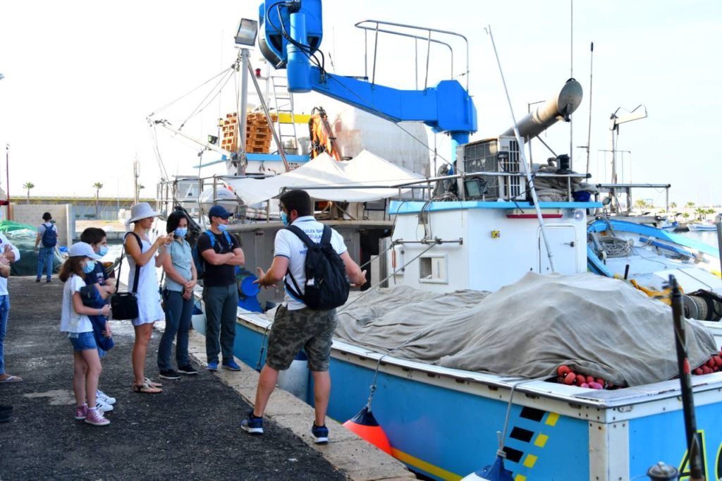 Visita lonja pescado ociomar pesca turismo Torrevieja 678