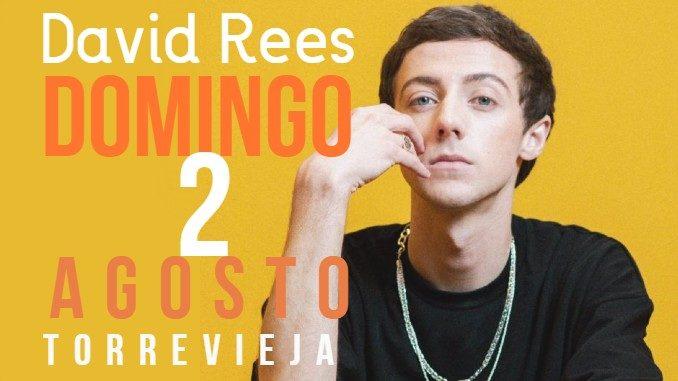 Concierto David Rees Torrevieja Domingo 2 de agosto 2020