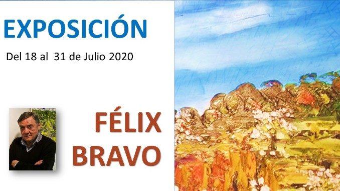 exposicion Felix Bravo en Torrevieja 2020