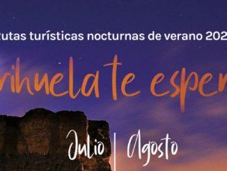 routes touristiques nocturnes estivales Orihuela 2020