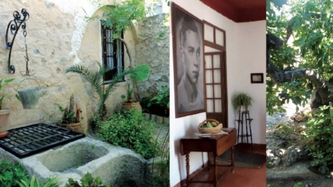 yöllinen turistikierros Orihuelaan Miguel Hernandezin kotimuseoon.