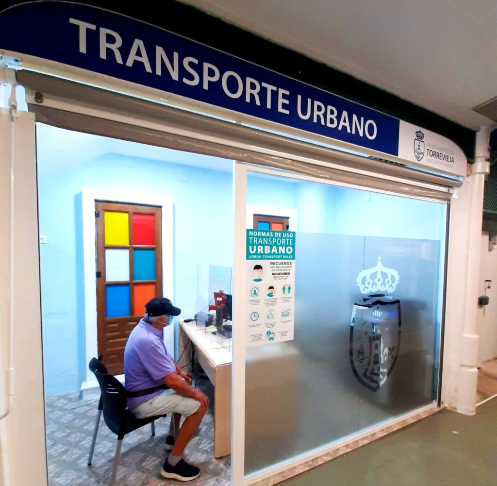 where to get the Torrevieja bus card