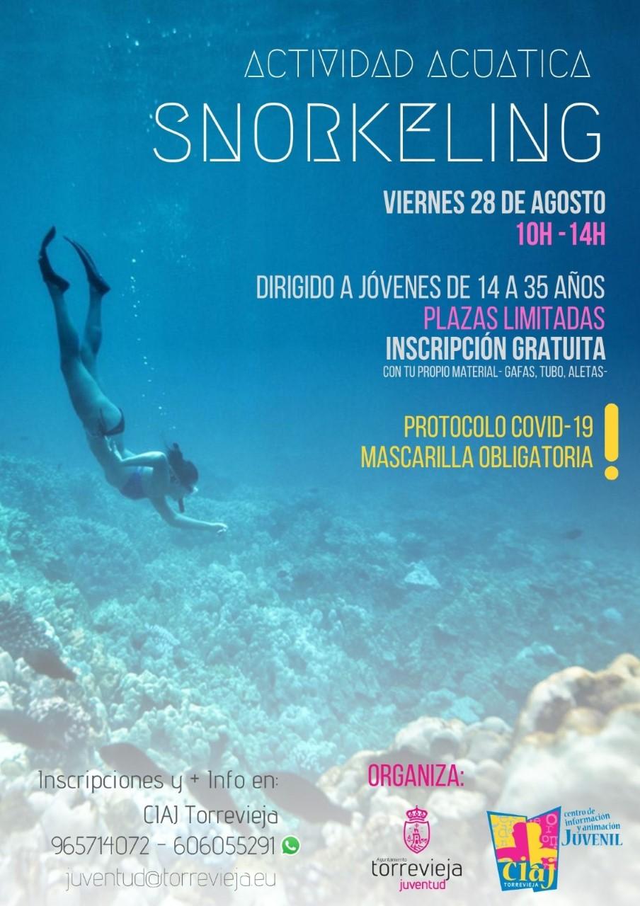 Snorkeling-gratis-en-Torrevieja-este-viernes-28-de-agosto CIAJ