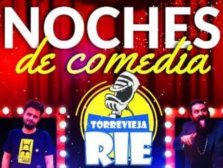 Torrevieja Rie festival de monólogos Septiembre parque Antonio Soria