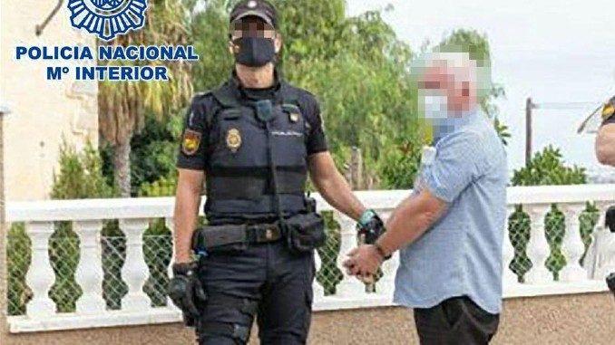 JOHN GILLIGAN detained in Torrevieja, drug dealer linked to the Veronica Guerin case