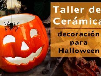 Taller de Cerámica decoración para halloween torrevieja