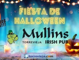 Fiesta de Halloween en J.Mullins irish pub Torrevieja sorteo de una play station 5