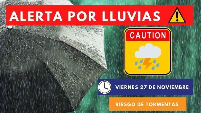 alerta por lluvias torrenciales en torrevieja