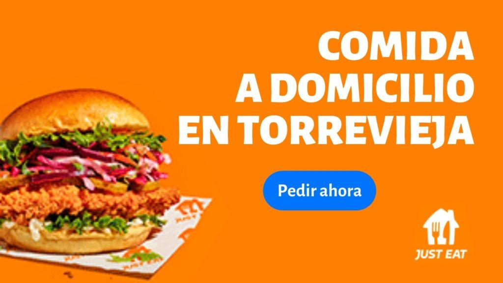 comida a domicilio en Torrevieja