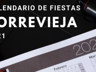 descargar calendario de fiestas Torrevieja 2021
