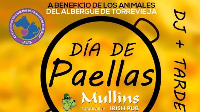 Día de Paellas en Mullins Irish Pub Torrevieja