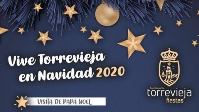 Navidad Torrevieja 2020 visita de papá noel
