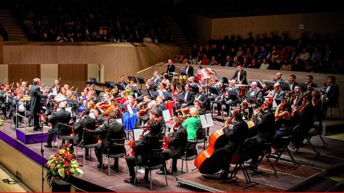 Новогодний концерт симфонического оркестра Торревьехи 2021 год