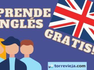 APRENDER INGLÉS GRATIS EN TORREVIEJA