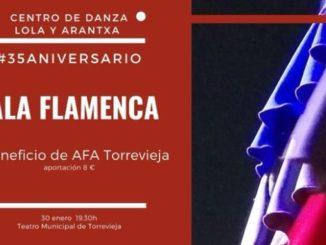 Gala Flamenca en Torrevieja 35 aniversario Teatro Municipal