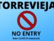 Torrevieja new covid 19 measures no entry