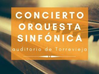 concierto de la orquesta sinfónica de Torrevieja auditorio
